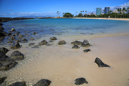 honolulu: Ala Moana Beach - Honolulu, Oahu, Hawaii