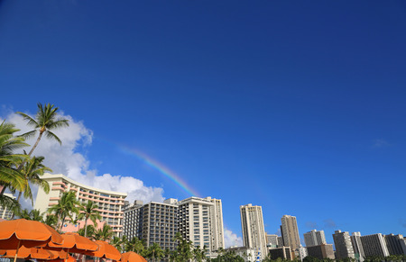 honolulu: Rainbow over Honolulu - Oahu, Hawaii