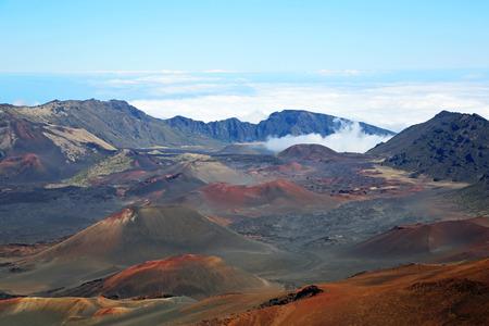 maui: Inside Haleakala Crater, Maui, Hawaii