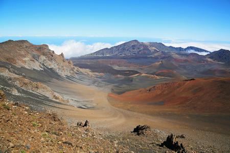 maui: Colorful slope of Haleakala National Park - Maui, Hawaii