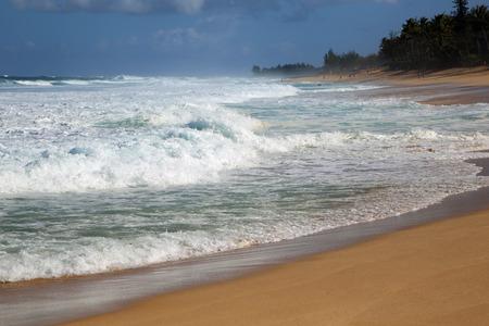 Oahu: Sunset Beach  North Shore Oahu Hawaii Stock Photo