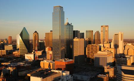 dallas: Dallas at sunset