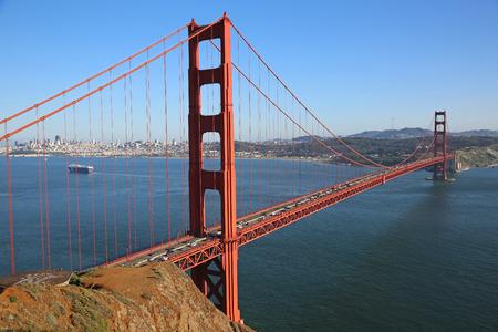 spencer: Golden Gate Bridge from Battery Spencer San Francisco California Stock Photo