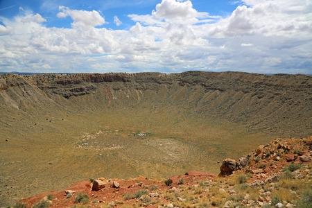meteor: Meteor crater- Winslow, Arizona