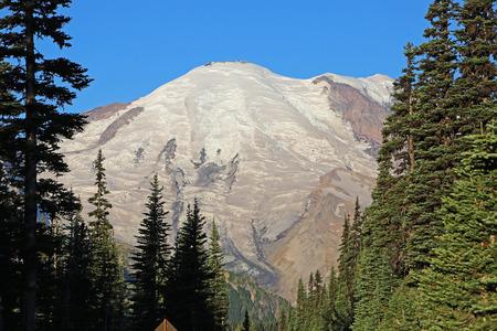 mount rainier: Mount Rainier - Mount Rainier National Park, Washington Stock Photo