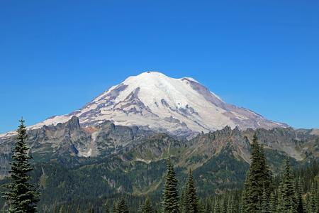 rainier: Mount Rainier - Washington Stock Photo