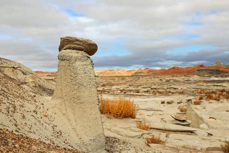 wilderness area: Hoodoo - New Mexico, BistiDe-Na-Zin wilderness area