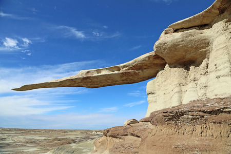 hoodoo: Famous hoodoo King of wings, New Mexico