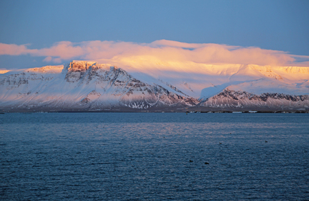 Esja at sunset - Iceland
