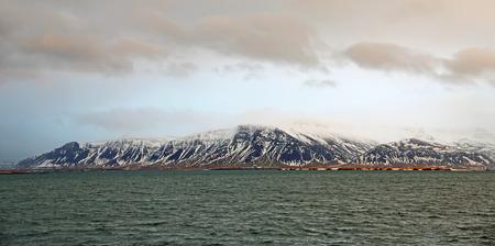 reykjavik: Esja - Reykjavik, Iceland Stock Photo