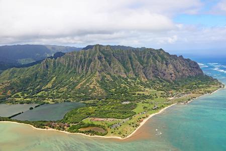 View at Kaneohe and Kualoa Ranch - Oahu, Hawaii