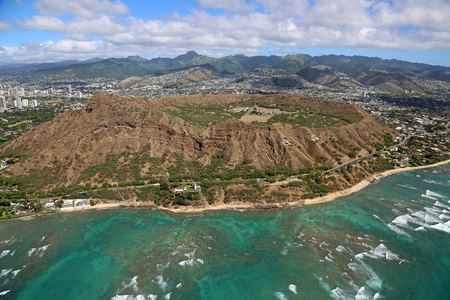 diamond head: Diamond Head Crater - Oahu, Hawaii