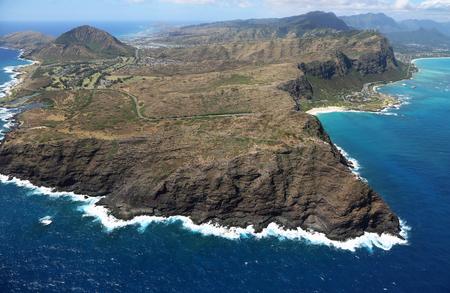 Oahu: Makapuu peninsula - Oahu, Hawaii Stock Photo