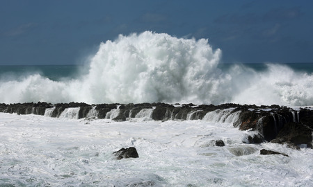north shore: Crushing wave - North Shore, Oahu, Hawaii