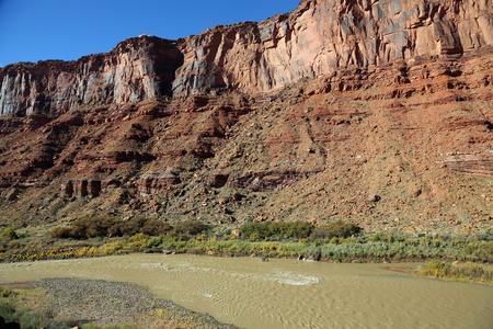 utah: Colorado Riverbed - Utah