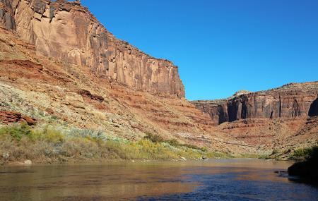 colorado river: Colorado River Canyon - Utah
