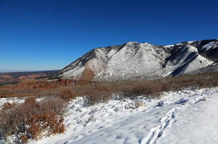 La Sal Mountains, Utah Stock fotó