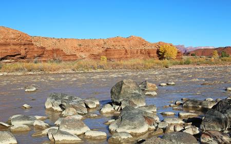 colorado river: Rocky Rapid on Colorado River , Utah