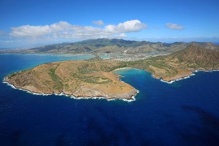 Peninsula with Hanauma Bay - Oahu, Hawaii