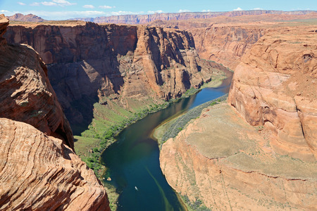 colorado river: Colorado River gorge - Arizona