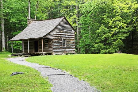 great smoky mountains national park: Carter Shield Cabin - Great Smoky Mountains National Park, tennessee