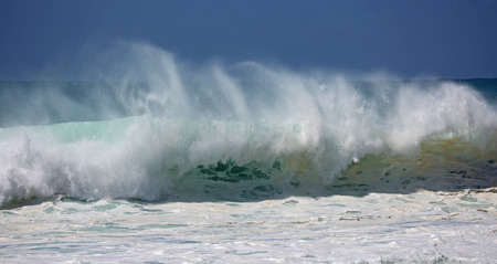 breaking wave: Breaking wave - Hawaii Stock Photo
