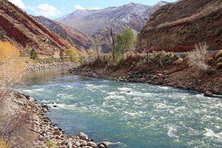 Colorado River in Glenwood Springs, Colorado