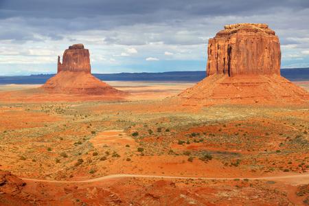 butte: East Miten and Merrick Butte - Arizona