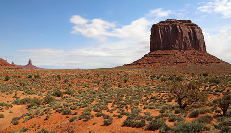 butte: Landscape with Merrick Butte- Arizona