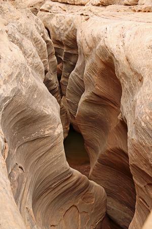 slot canyon: Fry Canyon - Utah Stock Photo