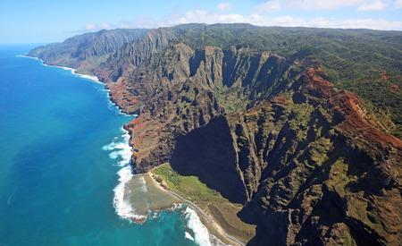 kauai: Na Pali coast, Kauai, Hawaii Stock Photo