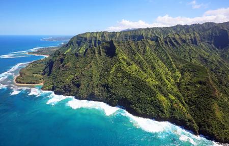 kauai: North cape of Kauai, Hawaii Stock Photo