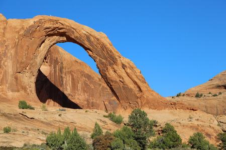 Corona Arch, Utah Stock Photo