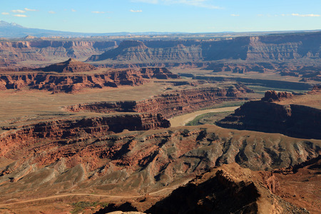 utah: View at canyonland, Utah Stock Photo