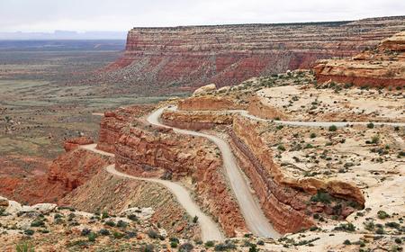 utah: Moki Dugway, Utah Stock Photo