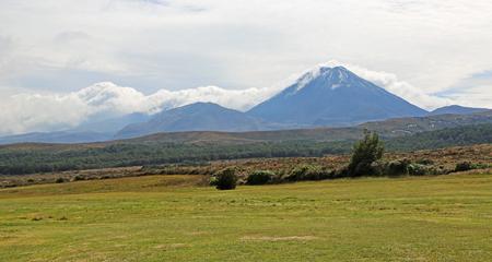 Mt Tongariro and Mt Ngauruhoe, New Zealand