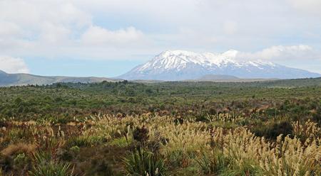 Mt Ruapehu in Tongariro NP, New Zealand
