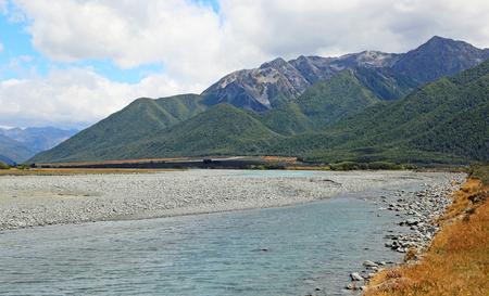 Riverbank - Arthurs Pass NP, New Zealand
