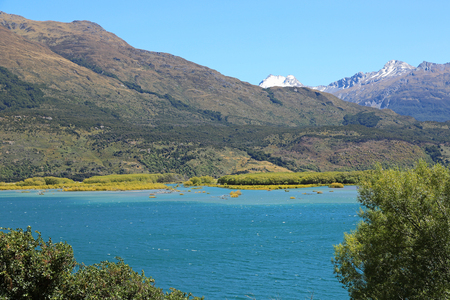 On Lake Wanaka, New Zealand