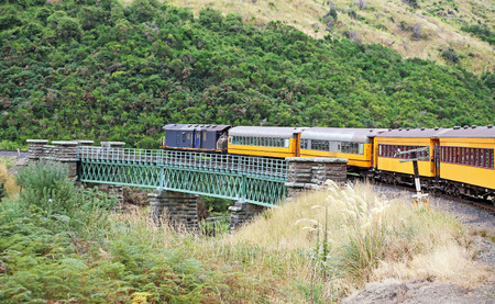 Taieri Gorge Railway, New Zealand