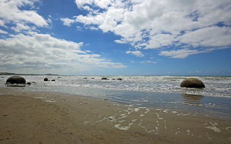 Koekohe Beach, New Zealand