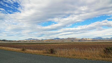 marlborough: Taylor Pass mountains, New Zealand Stock Photo