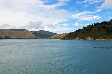 In Queen Charlotte Sound, New Zealand