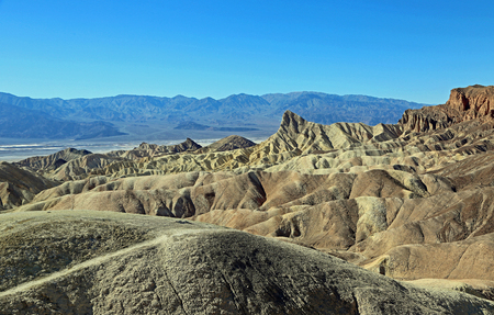 View at Death Valley, California