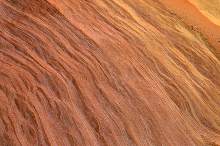 Aztec sandstone close up, Nevada Stock Photo