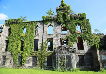 Smallpox Hospital ruin, New York