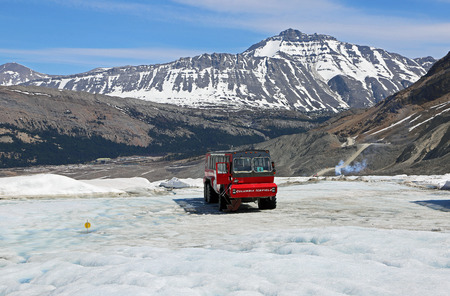 Veicolo Columbia Icefield, Canada