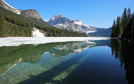On Emerald Lake, Yoho NP, Canada