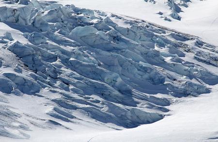 The cracks of glacier, Canada