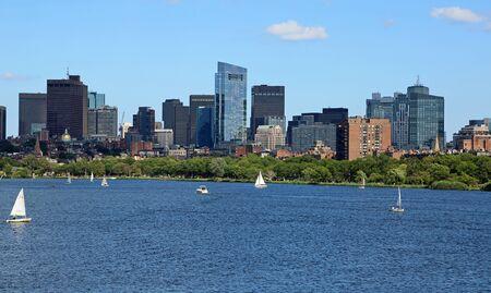 On Charles River, Boston
